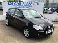 VOLKSWAGEN POLO 1.2 MATCH 5d 68 BHP A LOW PRICE 5DR FAMILY HATCHBA (black) 2009