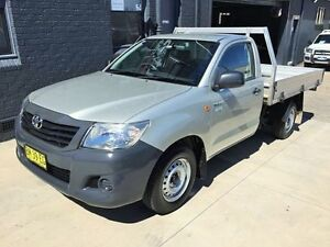 2011 Toyota Hilux TGN16R MY11 Upgrade Workmate Silver 4 Speed Automatic Cab Chassis Mortdale Hurstville Area Preview