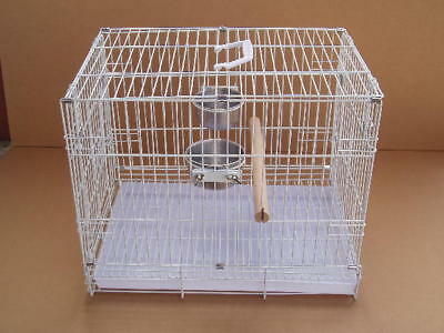 "Collapsible Travel Bird Cage Amazon African Grey 24""x16.5x20.5""H #9204-572"