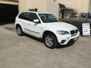2012 BMW X5 E70 MY12 Upgrade xDrive 30D White 8 Speed Automatic Sequential Wagon Maroochydore Maroochydore Area Preview