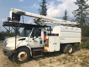 2009 Trim Truck / Chip Truck for Sale