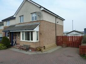 3 bed semi detached house for rent in carnwath