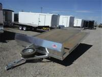 2-Place Drive-On Tiltbed Snowmobile Trailer **TAX IN PRICES**
