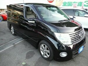 2007 Nissan Elgrand E51 HWS Premium Black 5 Speed Tiptronic Wagon Taren Point Sutherland Area Preview