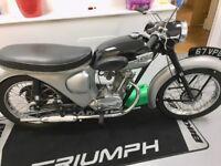 1961 triumph T20 tigercub
