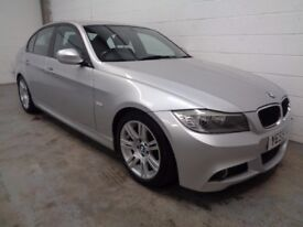 BMW 318 DIESEL M-SPORT 2009/59,LOW MILES,YEARS MOT, HISTORY, WARRANTY, FINANCE AVAILABLE, GREAT SPEC