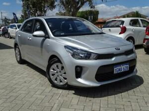 2018 Kia Rio YB MY18 S Silver 4 Speed Sports Automatic Hatchback Morley Bayswater Area Preview