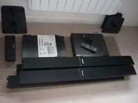 Panasonic DVD Home Theatre and Mitsubishi VHS recorder