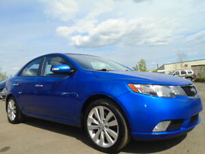 2010 Kia Forte SX 2.0 SPORT-HEATED LEATHER SEATS-SUNROOF-6 SPEED