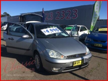 2003 Ford Focus LR CL Silver 4 Speed Automatic Hatchback Lansvale Liverpool Area Preview