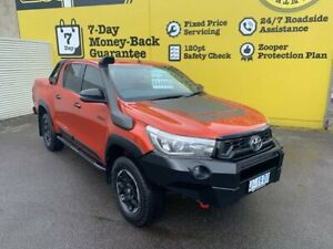 2018 Toyota Hilux GUN126R Rugged X Double Cab 6 Speed Sports Automatic Utility Invermay Launceston Area Preview