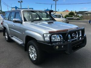 2012 Nissan Patrol Y61 GU 8 ST Silver 5 Speed Manual Wagon Bungalow Cairns City Preview
