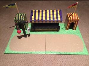 Papo Knights,Creatures, Horses& Jousting Castle Excellent Cond.