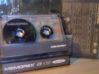 MEMOREX DB 60 (1993-1994) CASSETTE TAPES.