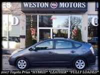 2007 Toyota Prius *HYBRID*AUTO*LOW KMS!*NAVI*FULLY LOADED*