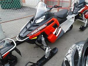 2015 Polaris 550 Factory Authorized Sled Clearance on Now!