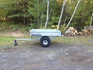 Galvanized ATV Trailer...nsy