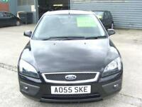 FORD FOCUS ZETEC CLIMATE 2005 Petrol Manual in Black