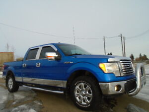 2010 Ford F-150 SuperCrew XTR--5.4L V8 Flexible--ONE OWNER TRUCK