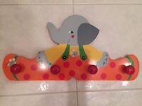 Elephant coat rack