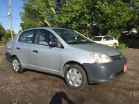 2005 Toyota Echo with remote start. 149735 km. Kitchener / Waterloo Kitchener Area Preview