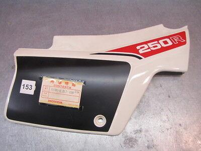 Honda XR250 RECHTER ZIJKAP RH SIDE COVER 835B0-KB7-600ZA
