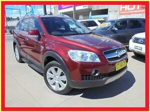 2008 Holden Captiva CG MY09 LX Burgundy 5 Speed Automatic Wagon Holroyd Parramatta Area Preview