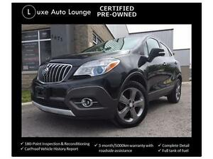 2014 Buick Encore AWD, BACK-UP CAMERA, LOW KM! LOADED!