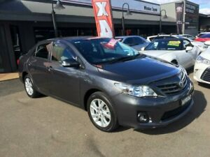 2012 Toyota Corolla ZRE152R MY11 Ascent Sport Grey 4 Speed Automatic Sedan Lidcombe Auburn Area Preview
