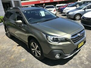 2018 Subaru Outback MY18 2.5i AWD Green Continuous Variable Wagon Rockdale Rockdale Area Preview