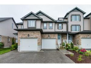 Ideal 3 Bedroom Freehold Townhouse in Desirable Huron Village