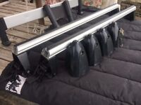 Audi A6 GENUINE Accessories - Roof Bars/Dog Guard/Extending (track) Estate Bars
