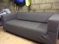 IKEA Klippan 2 seater sofa - medium grey