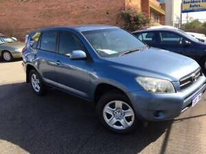 2007 TOYOTA RAV4 2.4LT 4X4 AUTOMATIC WAGON ( TIDY FAMILY WAGON ) Bayswater Bayswater Area Preview