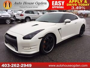 2014 NISSAN GTR BLACK EDITION NAVIGATION BACKUP CAMERA