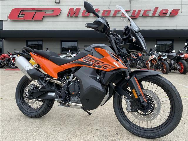 Picture of A 2021 KTM 890 Adventure