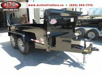 READY TO GO - 3.5 TON DUMP TRAILER $4994 LOADED FREE W/ UPGRADES