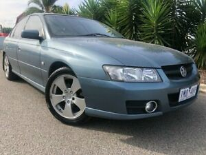 2006 Holden Commodore VZ MY06 SVZ Blue 4 Speed Automatic Sedan