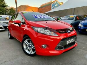 2012 Ford Fiesta WT Zetec Red 5 Speed Manual Hatchback Hamilton Newcastle Area Preview