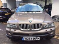 BMW X5 2004 FULL CREAM LEATHER 4.4 V8 LOVELY CAR