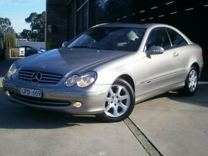 2002 Mercedes-Benz CLK240 Champagne Silver Auto Touchshift Coupe Dandenong Greater Dandenong Preview