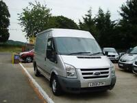 2010 FORD TRANSIT 2.2 TDCi 280 MWB Trend Medium Roof NO VAT