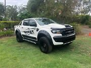 2016 Ford Ranger PX MkII XL Double Cab White 6 Speed Manual Cab Chassis Capalaba Brisbane South East Preview