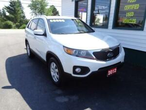 2012 Kia Sorento LX V6 2WD for only $121 bi-weekly on 4 years!