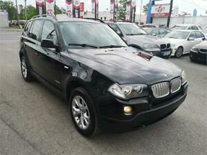 2009 BMW X3 30i, AWD, CUIR, TOIT PANO, GROUPE ELECT, A/C, 3.0L