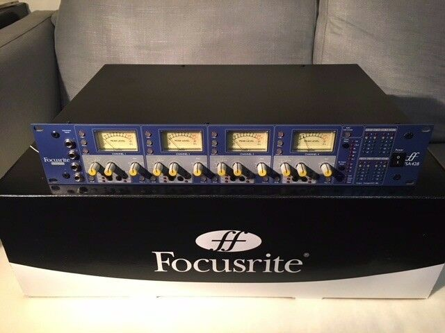 'FOCUSRITE ISA428' 4 channel mic preamp inc  ADC digital card  Excellent  condition, RRP= £1,798  | in Limehouse, London | Gumtree