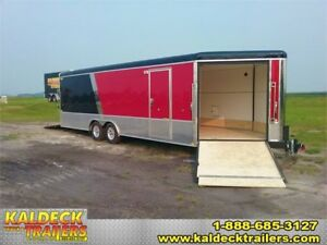 "H&H 101"" x 24' Combo Trailer"