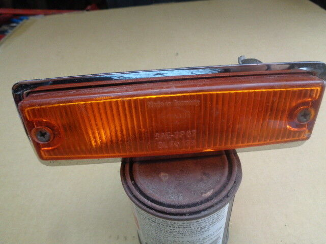 1967 - ? Volkswagen VW Hella SAE DP67 BL Po133 Amber Yellow Parking Light Lens