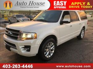 2016 FORD EXPEDITION MAX LIMITED ECO BOOST NAVIGATION BCAMERA