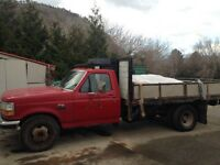 Must Sell 1994 F350 dually Diesel dump truck, new tranny